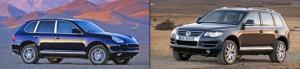 Porsche Cayenne и Volkswagen Touareg